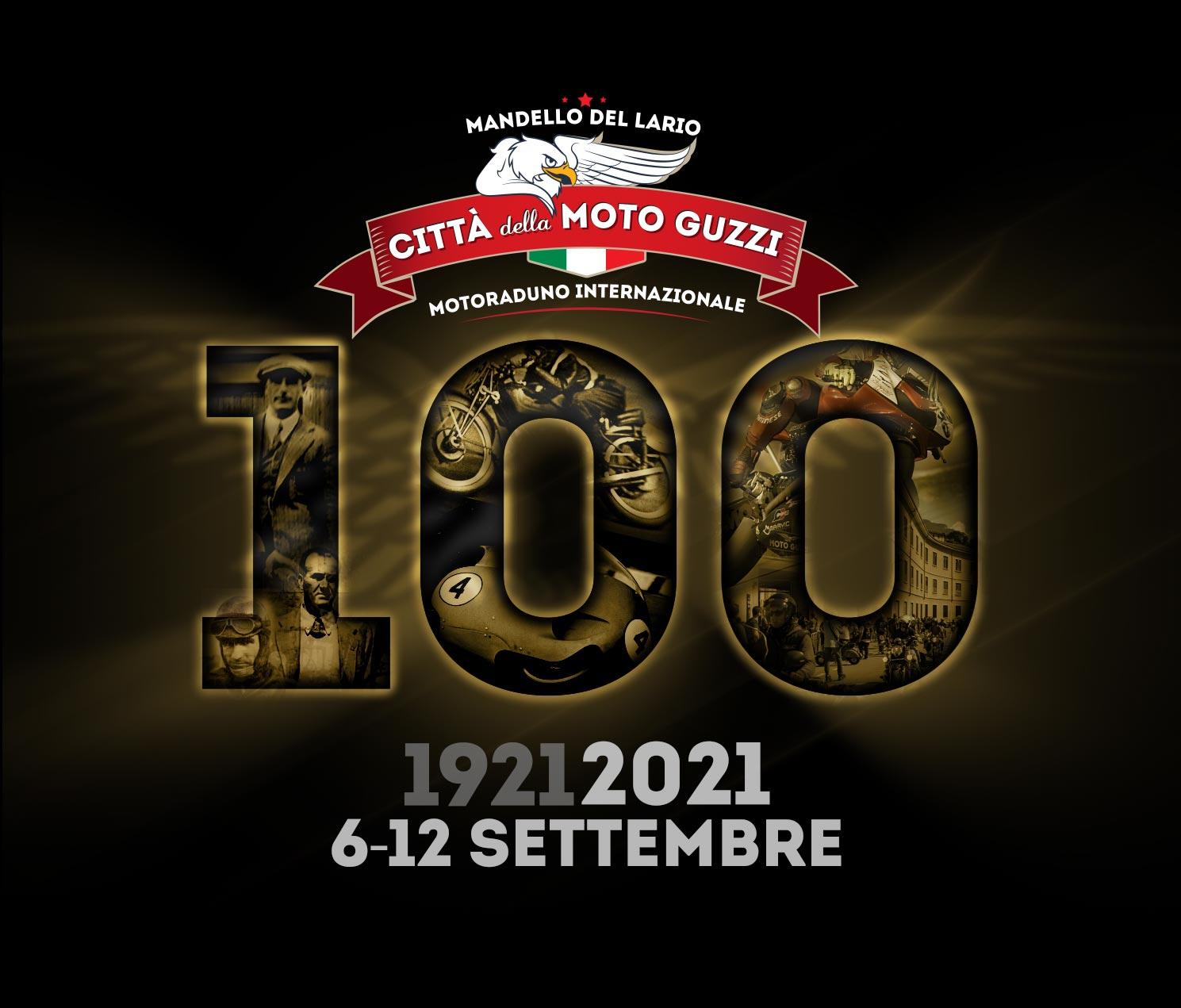 Motoraduno Mandello del Lario Moto Guzzi logo